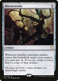 Mirrorworks, Magic: The Gathering, Commander 2018