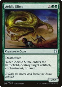 Acidic Slime, Magic: The Gathering, Commander 2018