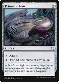 Prismatic Lens, Magic, Commander 2018