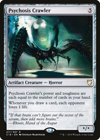 Psychosis Crawler, Magic: The Gathering, Commander 2018