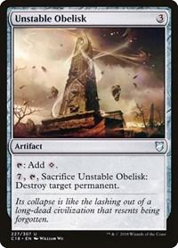 Unstable Obelisk, Magic: The Gathering, Commander 2018