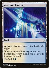 Azorius Chancery, Magic: The Gathering, Commander 2018