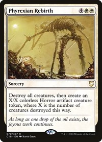 Phyrexian Rebirth, Magic: The Gathering, Commander 2018