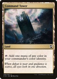 Command Tower, Magic: The Gathering, Commander 2018