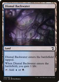 Dismal Backwater, Magic: The Gathering, Commander 2018