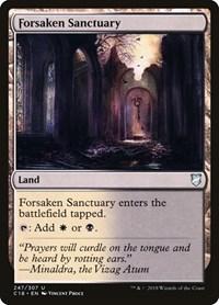 Forsaken Sanctuary, Magic, Commander 2018