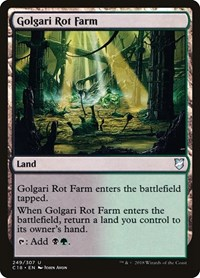 Golgari Rot Farm, Magic: The Gathering, Commander 2018