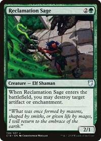 Reclamation Sage, Magic: The Gathering, Commander 2018