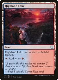 Highland Lake, Magic: The Gathering, Commander 2018