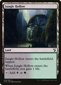 Jungle Hollow, Magic: The Gathering, Commander 2018