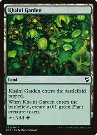Khalni Garden, Magic, Commander 2018