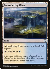 Meandering River, Magic: The Gathering, Commander 2018