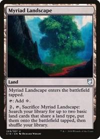 Myriad Landscape, Magic: The Gathering, Commander 2018