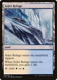 Sejiri Refuge, Magic: The Gathering, Commander 2018