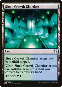 Simic Growth Chamber, Magic: The Gathering, Commander 2018