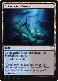 Submerged Boneyard, Magic: The Gathering, Commander 2018