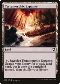 Terramorphic Expanse, Magic: The Gathering, Commander 2018