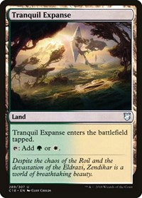 Tranquil Expanse, Magic: The Gathering, Commander 2018