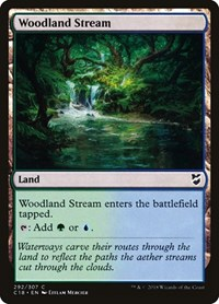Woodland Stream, Magic, Commander 2018