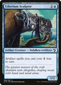 Etherium Sculptor, Magic: The Gathering, Commander 2018