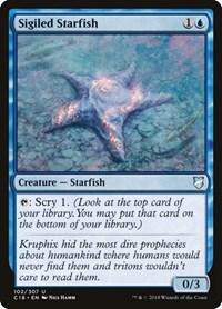 Sigiled Starfish, Magic: The Gathering, Commander 2018