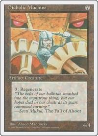 Diabolic Machine, Magic: The Gathering, Fourth Edition
