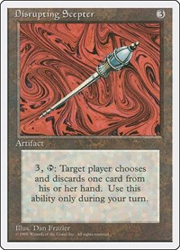 Disrupting Scepter, Magic: The Gathering, Fourth Edition