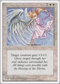 Divine Transformation, Magic: The Gathering, Fourth Edition