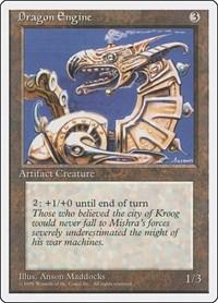 Dragon Engine, Magic: The Gathering, Fourth Edition