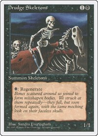 Drudge Skeletons, Magic: The Gathering, Fourth Edition