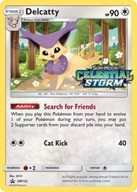 Delcatty (Prerelease Promo), Pokemon, SM Promos