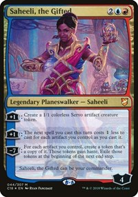 Saheeli, the Gifted (Commander 2018), Magic: The Gathering, Oversize Cards