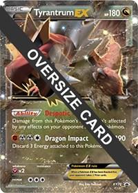 Tyrantrum EX - XY70 (XY Black Star Promo), Pokemon, Jumbo Cards