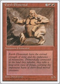 Earth Elemental, Magic: The Gathering, Fourth Edition