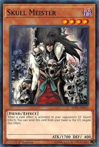Skull Meister, YuGiOh, Structure Deck: Powercode Link