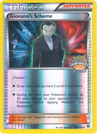 Giovanni's Scheme - 138/162 (Championship Promo), Pokemon, League & Championship Cards