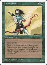 Elvish Archers, Magic, Fourth Edition