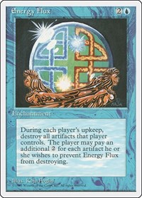 Energy Flux, Magic: The Gathering, Fourth Edition