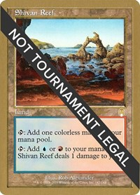 Shivan Reef - 2002 Sim Han How (APC), Magic: The Gathering, World Championship Decks