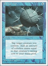 Energy Tap, Magic, Fourth Edition