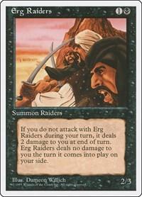 Erg Raiders, Magic: The Gathering, Fourth Edition