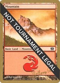 Mountain (346) - 2003 Wolfgang Eder (8ED), Magic: The Gathering, World Championship Decks