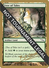 Tree of Tales - 2004 Manuel Bevand (MRD), Magic: The Gathering, World Championship Decks