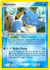 Blastoise (EX Crystal Guardians), Pokemon, Deck Exclusives