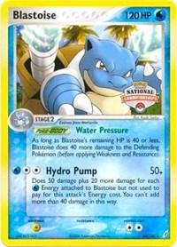 Blastoise (National Championship Promo), Pokemon, League & Championship Cards