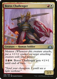 Boros Challenger, Magic: The Gathering, Guilds of Ravnica