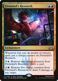 Firemind's Research, Magic, Guilds of Ravnica