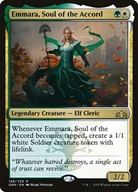 Emmara, Soul of the Accord, Magic: The Gathering, Guilds of Ravnica