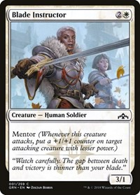 Blade Instructor, Magic: The Gathering, Guilds of Ravnica