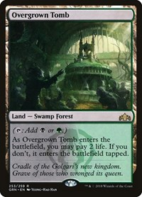 Overgrown Tomb, Magic: The Gathering, Guilds of Ravnica